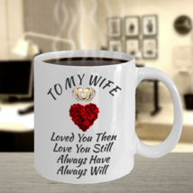 Anniversary Birthday Surprise Love Gifts For Wife Color Changing Coffee Mug - $22.99
