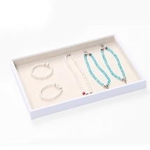 BOCAR Jewelry White Display Showcase Organizer Holder for Necklace Brace... - $17.81