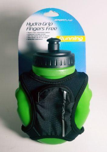 Sportline Hydra Grip Fingers Free 12oz Drinking Bottle w/ pocket  - A must have