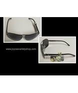Panama Jack Sunglasses Black Metal 100% UVA UVB NWT - $10.99