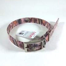 "Valhoma Pink Woodland Camo 1"" Plastic Dog Collar Various Sizes - $12.27+"