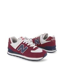 New Balance 574 Series Herren Schuhe Rot/Schwarz/Blau/Grau Suede Sneakers  - $77.05+