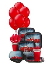 Ant-Man Snack Pack for 8 Guests with Balloons Birthday Party Supplies New - $13.81