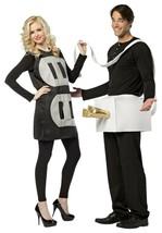 Rasta Imposta Stecker und Steckdose Leicht Lustig Paar Halloween Kostüm ... - $47.12