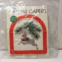 Reindeer Ornament Plastic Canvas Pattern Canvas Capers Leisure Arts Chri... - $9.74