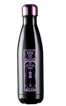 Anna Sui Starbucks Stainless Steel S'well Swell Water Bottle 17oz Black Purple - $98.01