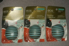 eos Lip Balm Sphere Peppermint Mocha Holiday Collection *Lot of 3* *See ... - $15.00