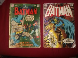 "Batman #210 ""Battle of the Sexes!"" Catwoman Solid VG+!!! Batman #221 DC F - $45.00"