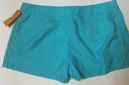 Champion Activewear Shorts Colorwave Aqua Sz XL Velcro Drawstring image 5