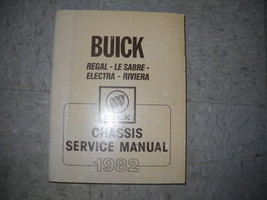 1982 GM Buick Regal Lesabre Electra Riviera Service Shop Workshop Manual OEM - $79.19
