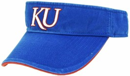 adidas Kansas Jayhawks Men's Golf Tennis Adjustable Visor Hat - $4.90