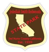Jedediah Smith Redwoods State Park Sticker R4891 California - $1.45+