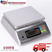 USA Measurement Scales Food Scale NSF Safe Stainless Steel Wash Down Sca... - $444.51