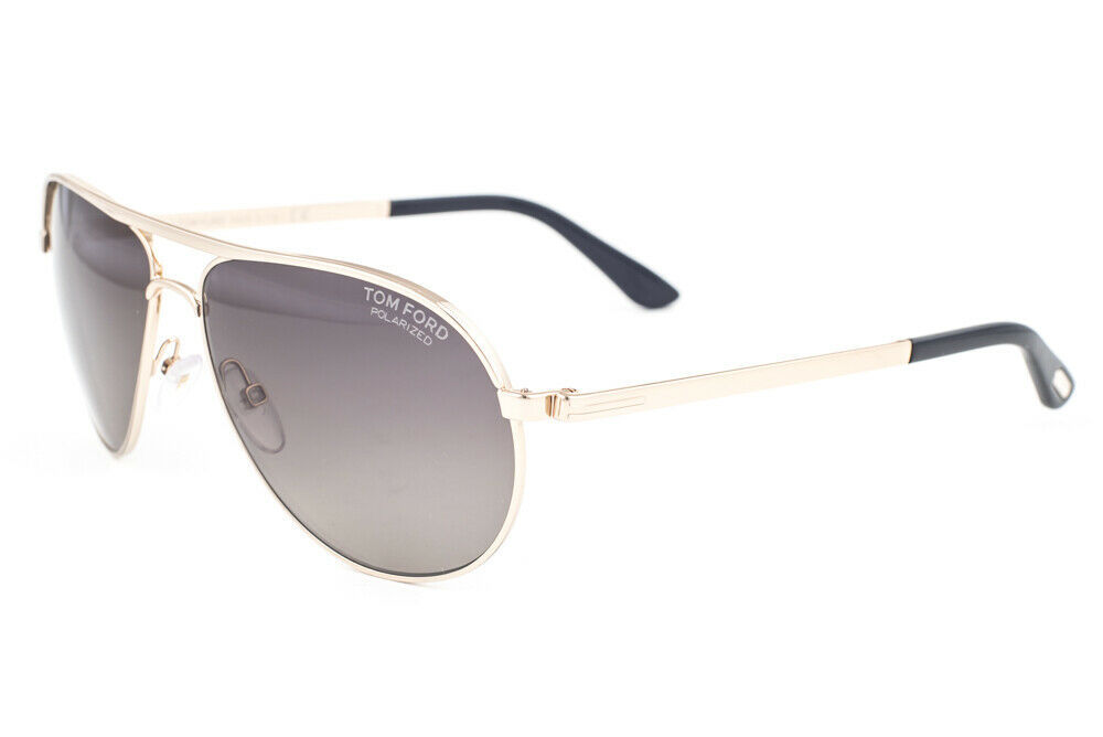Primary image for Tom Ford Marko Rose Gold / Gray Polarized Sunglasses TF144 28D