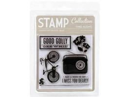 American Crafts Sing Along Clear Stamp Set #59212