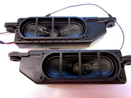 Sharp LC-32D47UA 305-00042C00 8 Ohms 10 Watts A10G17/A10G18 Speakers with mounts - $11.96