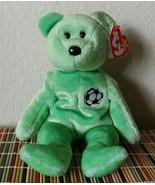 TY Beanie Baby KICKS 1999 Plush Soccer Futbol Bear Toy RETIRED Football ... - $7.50