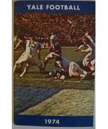 Vintage Fußball Media Presse Führung Yale Universität 1974 - $39.14