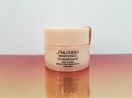 SHISEIDO Benefiance WrinkleResist24 Day Cream SPF18 Travel Size 30ml / 1oz - $39.60