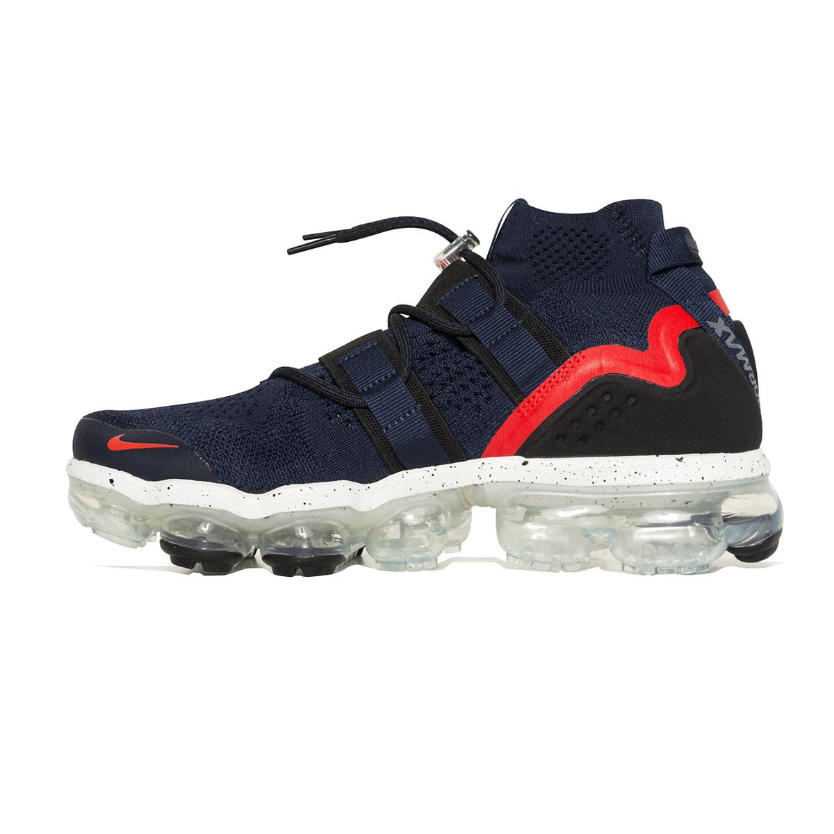 e3963fb4966 ... Nike Air Vapormax Flyknit Utility (Navy  Black  Red) Men 7-13 ...