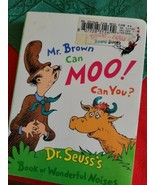 Mr. Brown Can Moo! Can You? by Dr. Seuss - $73.59