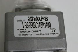 NIdec Shimpo VRSFB03014BK1400 Able Reducer Ratio 3:1 New image 2