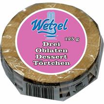 Wetzel Oblaten Wafers dessert tart from Germany 3pc/125g FREE SHIPPING - $8.90