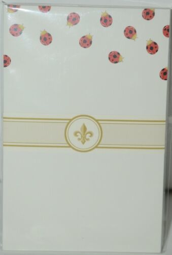 Faux Designs GP116 Ladybug Gift Notepad 50 Tear off Sheets