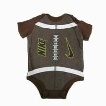 Nike Football short sleeve romper SIZE 0-3 MONTHS - $8.86