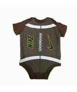 Nike Football short sleeve romper SIZE 0-3 MONTHS - $8.86