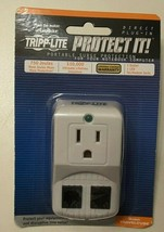 Tripp Lite Protect It! Portable Surge Protector for Laptop/Notebook/Phone - $12.99