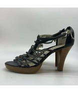 Rampage Ladies High Heels Shoes , Open Toe, Size 8.5M - $13.86