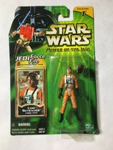 Star Wars 2000 POTJ Collection 1 Luke Skywalker X-Wing Pilot Green Card .. - $5.95