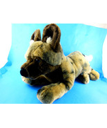 """SOS Save Our Space African 13"""" WILD DOG Plush 2011 RARE HTF Blue Eyes Aw... - $16.57"""