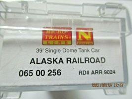 Micro-Trains # 06500256 Alaska Railroad 39' Single Dome Tank Car N-Scale image 6