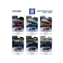 General Motors Collection Series 1, 6pc Set  1/64 Diecast Model Cars by ... - $54.68