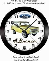 1972 FORD BRONCO WALL CLOCK-FREE USA SHIP! Chevrolet, GMC, Dodge, Blazer - $41.57+