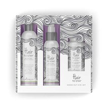 Lavenluv Hair to Stay Hair Care Set - 3 Piece Kit Including Organic Shampoo with