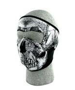 Glow In Dark SKULL Neoprene Face Mask Ski Cold Protect Snowboard Protection - $12.00