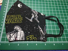Star Wars Face Mask  Metal Nose Bridge Average to Large e Ear Saver Prot... - $14.84
