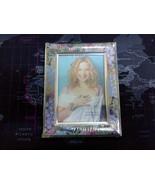 """Photo Frame with Flower Motif 9cm X 13cm - 3.5"""" X 5"""" - $11.39"""