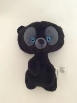 "DISNEY STORE Brave black HUBERT TRIPLET AS BEAR 7"" small plush - $9.49"