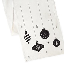 The Cotton & Canvas Co. Ornaments Christmas Table Runner - $19.99