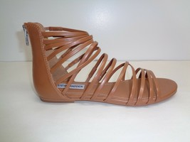 Steve Madden Size 7 M WALLIS Tan Gladiator Strappy Sandals New Womens Shoes - $98.01