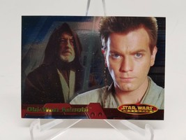 2001 Star Wars Evolution Promo Foil Insert P2 Obi-Wan - $4.94