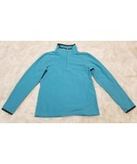 Old Navy 1/4 Zip Pullover Fleece Blue - Size Small - $8.80