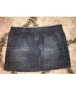 Gap 1969 Limited Edition Dark Denim Tab Front Slash Pocket Mini Jean Ski... - $6.50