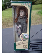 ANNE OF GREEN GABLES  WAITING AT THE STATION   PORCELAIN DOLL  NEW IN BO... - $59.99