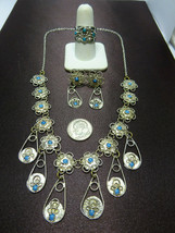 Vintage All Sterling Silver Jewelry Lot,Filigree 935 Silver Set + Signed... - $99.95