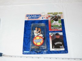 1993 Initial Gamme David Nied Rockies Action Figurine Kenner MLB Carte NOS - $10.68